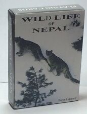 NEW Deck of  Playing Cards From Nepal With Amazing Animal Nature pictures