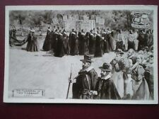 POSTCARD SOCIAL HISTORY THE FUNERAL OF AMY ROBSART 1500 OXFORD PAGENT