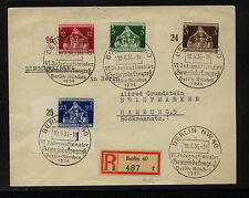 Germany  473-76  special cancel  registered cover      MM1103