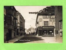 Hertford Fore Street Johnsons Cleaners Shop unused RP pc  Ref H Coates A710