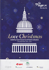 BARBARA WINDSOR HAND SIGNED' LOVE CHRISTMAS' PROGRAMME PLUS RUSSELL WATSON