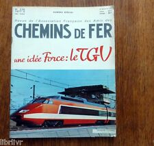 Train Chemins de fer  UNE IDEE FORCE LE TGV