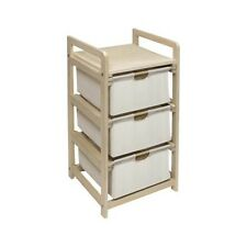 Badger Basket Hamper 3 Drawer Storage Unit - Natural