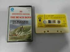 THE BEACH BOYS 20 GOLDEN GREAT CINTA TAPE CASSETTE EMI 1986 SPANISH EDITION