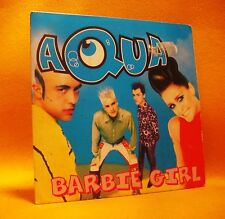 Cardsleeve single CD Aqua Barbie Girl 2TR 1997 Eurodance