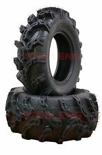 Set of 4 New ATV/UTV Tires 2 of 25x8-12 Front and  2 of 25x10-12 Rear /6PR P375