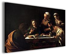 Quadro moderno Caravaggio vol XVII stampa su tela canvas pittori famosi