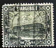Timbre SARRE / SAAR Stamp - Yvert Tellier n°96 obl (Cyn22)