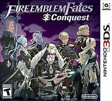 Fire Emblem Fates: Conquest (Nintendo 3DS, 2016) Free Shipping - NEW