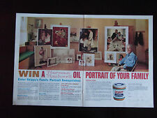 1964 Skippy Peanut Butter Sweepstakes Win A Norman Rockwell Family Portrait Ad