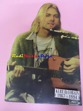 CARTONATO PROMO KURT D. COBAIN NIRVANA 40X29 cm cd dvd vhs lp live mc