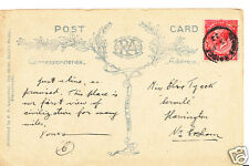 Genealogy Postcard - Family History - Tyack - Harvington - Nr Evesham BT818