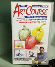 Art Course - Step By Step Drawing and Painting Made Easy - VHS