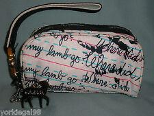 Gwen Stefani LAMB For LeSportsac Penmanship Pattern Pre - Owned Wristlet