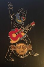 HARD ROCK CAFE NABQ EGYPT ANUBIS PLAYING GUITAR PIN EGYPTIAN