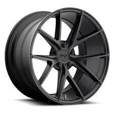 "(4rims) 18"" Niche Wheels M117 Misano Matte Black Rims"