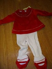 First Impressions Red Infant Girls 2 Piece Size 3-6 Months NWT Christmas