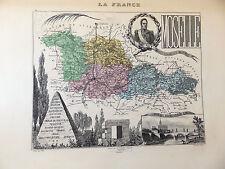 LA FRANCE ET SES COLONIES DEPARTEMENT DU MOSELLE VOIR DESCRIPTIF