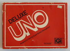 Vintage 1978 Deluxe Uno Card Game IGI complete with score pad and instructions