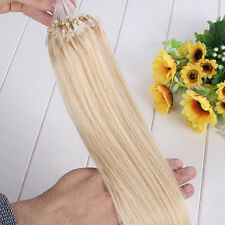 "AAAA+ 16""-26"" Double Drawn Micro Ring Loop Bead 100%  Remy Human Hair Extensions"