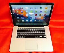 "15"" MacBook Pro  QUAD i7 TURBO + 2.9Ghz + 16GB + 1TB SSHD + Edit-Compose-Design"