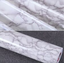 Gray Marble Decal Decor Vinyl Contact Paper Peel Stick 24-Inches by78.7-Inches