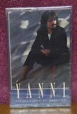 Reflections of Passion by Yanni   1990 Cassette Tape  New Age   BRAND NEW SEALED