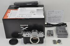 FUJIFILM X-T10 16.3 MP Digital Camera Silver Body EXCELLENT #170110e