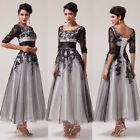 PLUS+ Vintage Retro Swing 50's 60's Pinup Housewife Wedding Prom Party Tea Dress