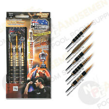 Australia's World Champion TONY DAVID HIGH Impact BRASS Dart Board Darts 27 Gram