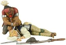 BRITAINS SOLDIERS 16009 - Eastern Woodland Indian Scalping Colonial Militia Set