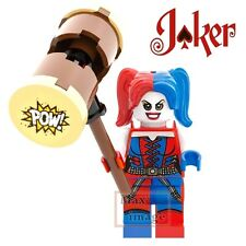 1pc Harley Quinn Hammer Custom Minifigure fits Lego Building Toy DC Joker #255