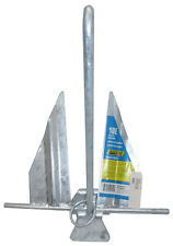 SeaChoice Hot-Dipped, Galvanized 10E Utility Anchor, 20' to 24' Boats - 41620