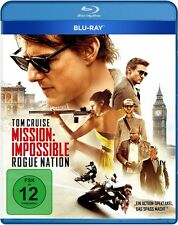 JEREMY RENNER TOM CRUISE - MISSION IMPOSSIBLE: ROGUE NATION  BLU-RAY NEU