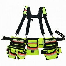 Bucket Boss Hi-Vis Mullet Buster Suspension Tool Belt Rig 21389