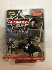 PBR Micro Icons Mike White & Mossy Oak Mudslinger Action Figure & Card NIP Rare