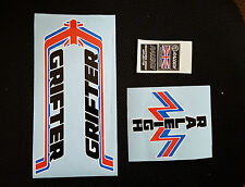 Raleigh GRIFTER MK1 bike decal/sticker full set