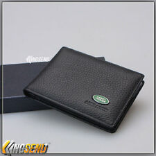 car Land Rover Card Holder Genuine Cow Leather men driving license credit bank