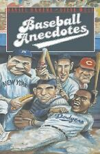 Baseball Anecdotes by Steve Wulf and Daniel Okrent (1989, Hardcover)
