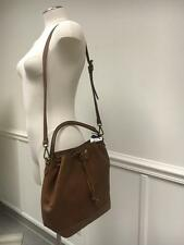 Madewell The Lafayette Bucket Bag $198 Rich Brown B1654 Leather SOLD OUT SWAG