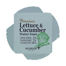 [SKINFOOD] Premium Lettuce & Cucumber Watery Toner Samples - 10pcs