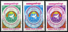 Kampuchea 1984 SG#515-7 Peace Cto Used Set #A84746