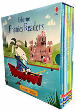 Usborne Phonics Readers 15 illustrated Books Gift Set Collection - Read at Home