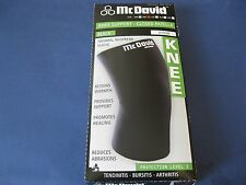 McDavid Closed Patella Knee Support Large A401B Thermal Neoprene Brace L 401