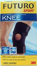 Futuro Sport Ajustable Rodilla Soporte, Ajuste personalizado, débil o dolor en las rodillas 09039