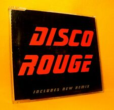 MAXI Single CD Disco Rouge Inc. New Remix 4 TR 1997 Byte Belgian House RARE