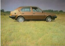 Volvo 340 series c1981 colour Postcard Oversize