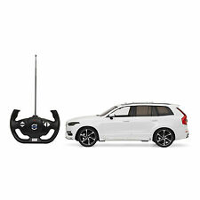 Genuine Volvo XC90 New Shape Remote Control Car with Lights Scale 1:14 White