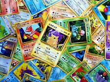 Great Lot of 500 All Original Base through Neo Pokemon Cards Japanese Com/Unc