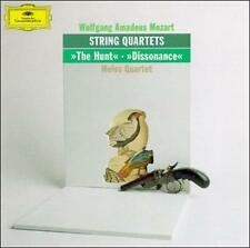 """Mozart: String Quartets """"The Hunt"""", """"Dissonance"""" 1990 by Wolfgang Ama Ex-library"""